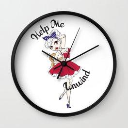 Dancing Doll Wall Clock
