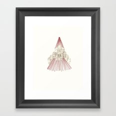 Temporary Mountain Framed Art Print