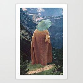 """MountainMan"" Art Print"