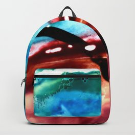 the earth is on fire Backpack