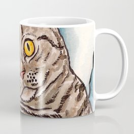 Grey Cat Coffee Mug