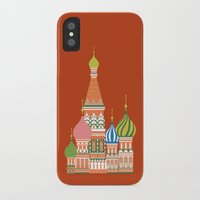 moscow iPhone & iPod Cases featuring Moscow by Chay Lazaro