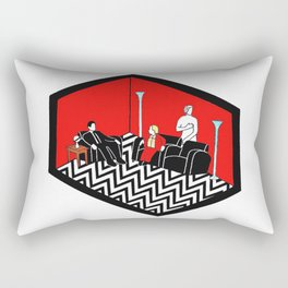 Twin Peaks Black Lodge Rectangular Pillow