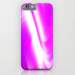 DREAM PATH (Purples, Fuchsias & White) iPhone Case