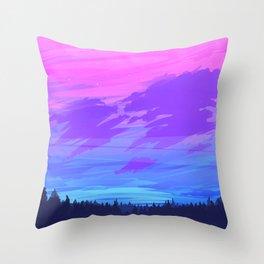 Bi Sky Throw Pillow