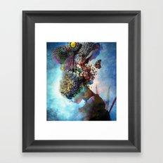 Adhyasa Framed Art Print