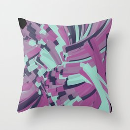 Twisting Nether Throw Pillow
