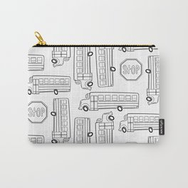 Bus Pattern 4 Carry-All Pouch