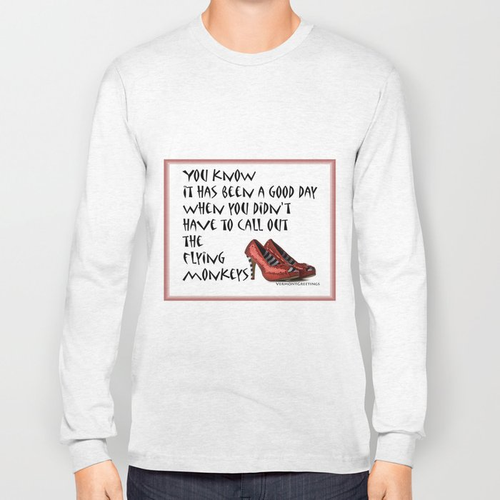Ruby Slippers Long Sleeve T-shirt