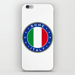Cities of Italy, Rome iPhone Skin