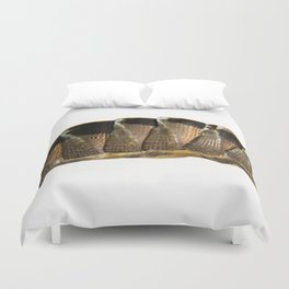 lines and blemishes Duvet Cover