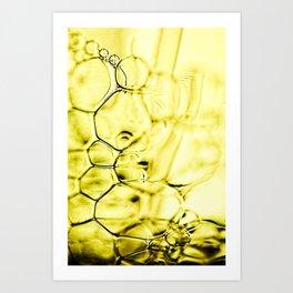 mousse de savon Art Print