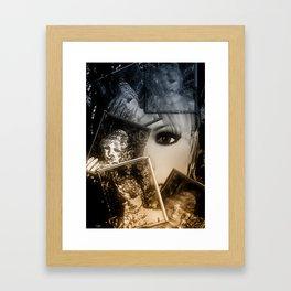 Spiegelbilder Framed Art Print