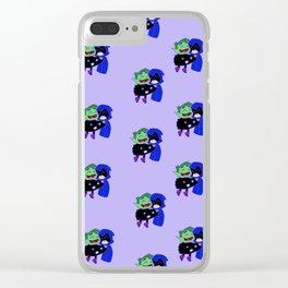 teen titans - theme Clear iPhone Case