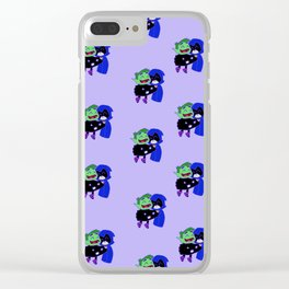 teen titans - theme Clear iPhone Case
