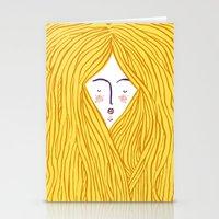blondie Stationery Cards featuring Blondie by Katie L Allen
