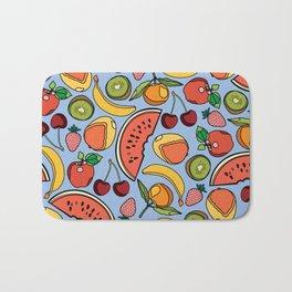 Bold Fruit Bath Mat