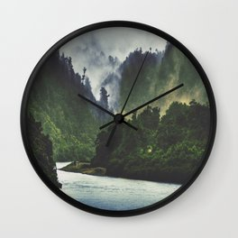 The Spirit Of The River Wall Clock