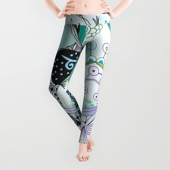 Winter tangle Leggings