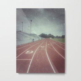 My Running Days Metal Print
