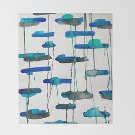 Sea Glass Throw Blanket