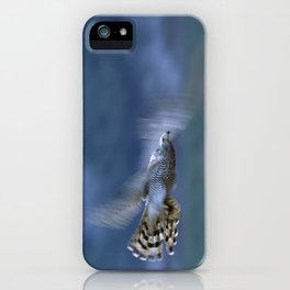 GOSHAWK IN FLIGHT iPhone Case