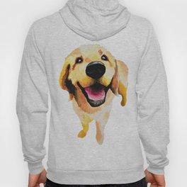 Good Boy / Yellow Labrador Retriever dog art Hoody