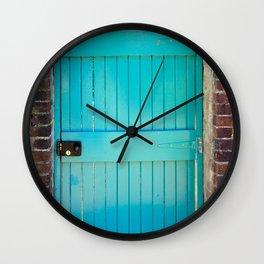 Kylemore Abbey Victorian Garden Door Wall Clock