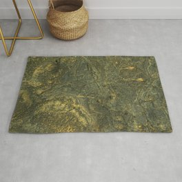 golden scales of the dragon ares | space 014 Rug