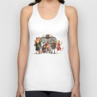 dungeons and dragons Tank Tops featuring Dungeons and Dragons by Markus Erdt