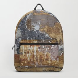 Old grunge wall Backpack