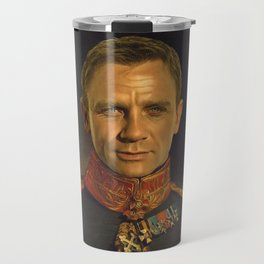 Daniel Craig - replaceface Travel Mug