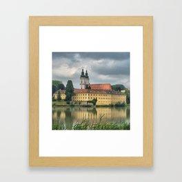 Along the Inn River Framed Art Print