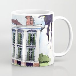 Ducros House, Thibodaux, Louisiana Coffee Mug
