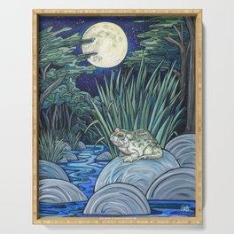 Moonlight Toad Serving Tray