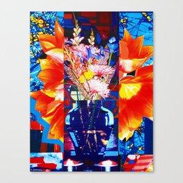 PRIMAVERA STUDY 109 (SPRING FLOWERS) Canvas Print