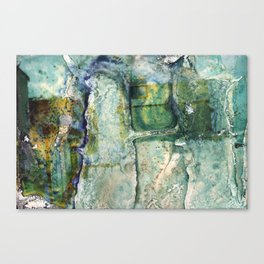 Water Damaged Photo No. 6 Canvas Print