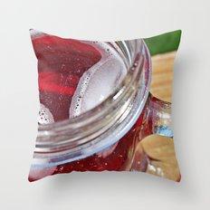mason mugs make my day Throw Pillow