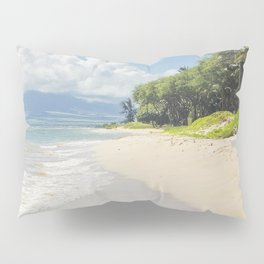 Kawililipoa Beach Kihei Maui Hawaii Pillow Sham