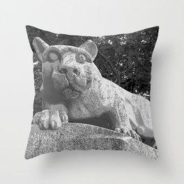 Penn State University Nittany Lion Print Throw Pillow