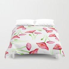 Poppy pattern Duvet Cover