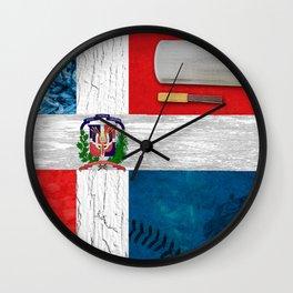 Dominica my Republic Wall Clock