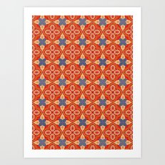Moroccan Motet Pattern Art Print