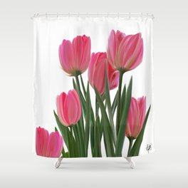 The Joy of Tulips Shower Curtain