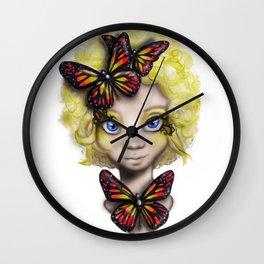 Effie Fan Art Wall Clock