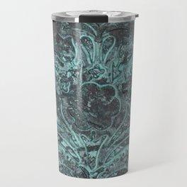 Bronze and Blue (Patina series) Travel Mug