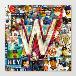 Fly the W Canvas Print
