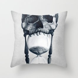 Demise of Time Throw Pillow