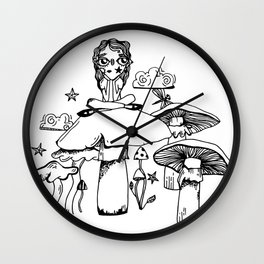 Not Amused Wall Clock