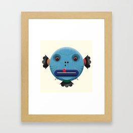 Mickley heads 01 Framed Art Print